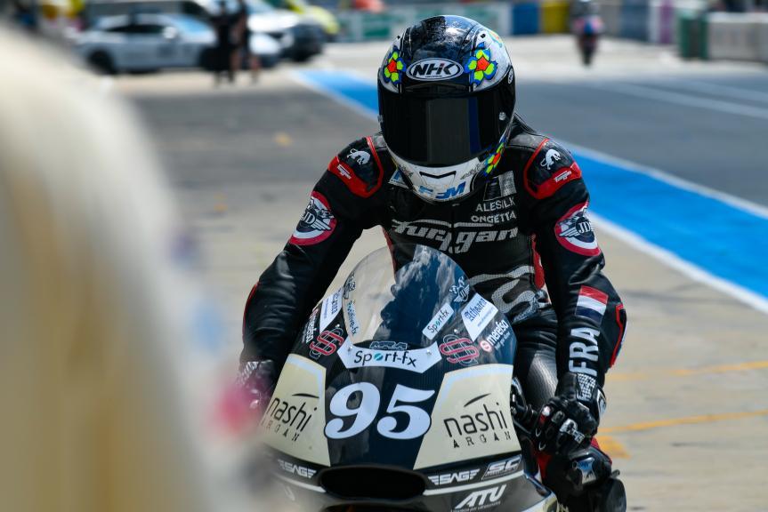 Jules Danilo, Nashi Argan SAG Team, LeMans Moto2 & Moto3 Oficial Test