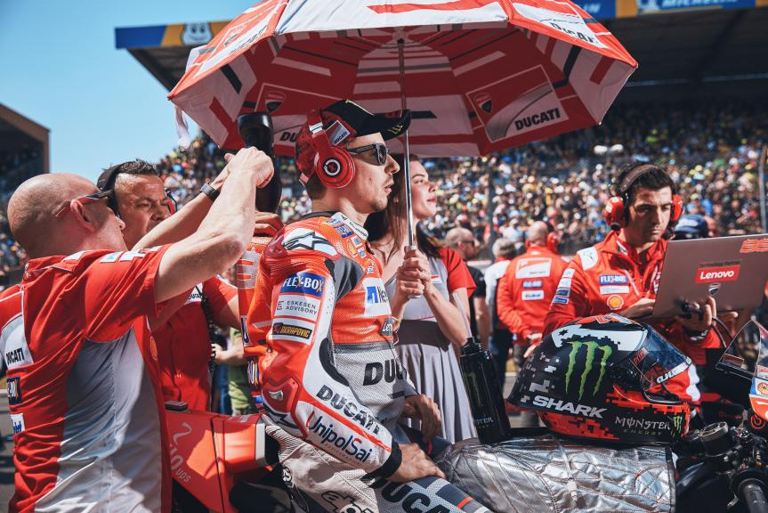 Jorge Lorenzo, Ducati Team, HJC Helmets Grand Prix de France @Alex Chailan / David Piolé