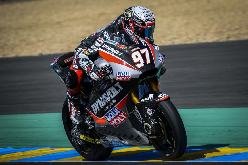 Xavi Vierge, Dynavolt Intact GP, LeMans Moto2 & Moto3 Oficial Test