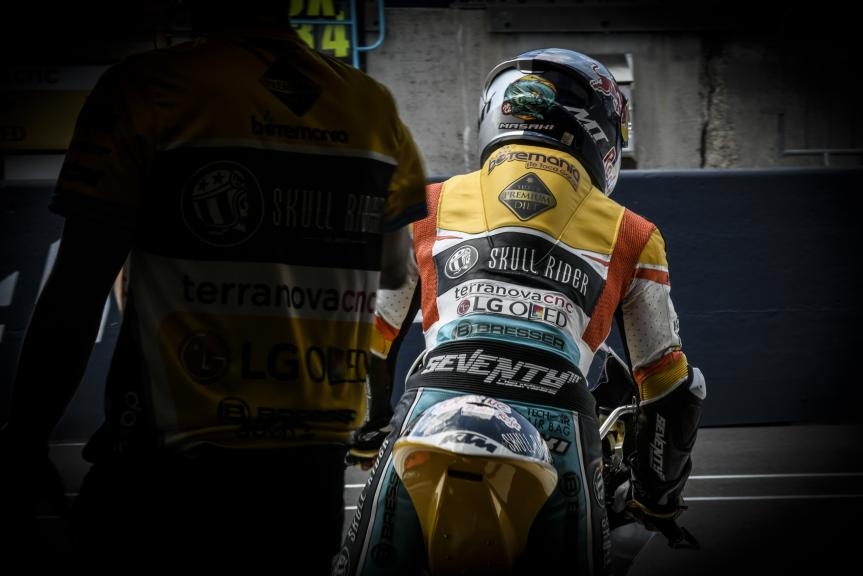 Kazuki Masaki, RBA BOE Skull Rider, LeMans Moto2 & Moto3 Oficial Test