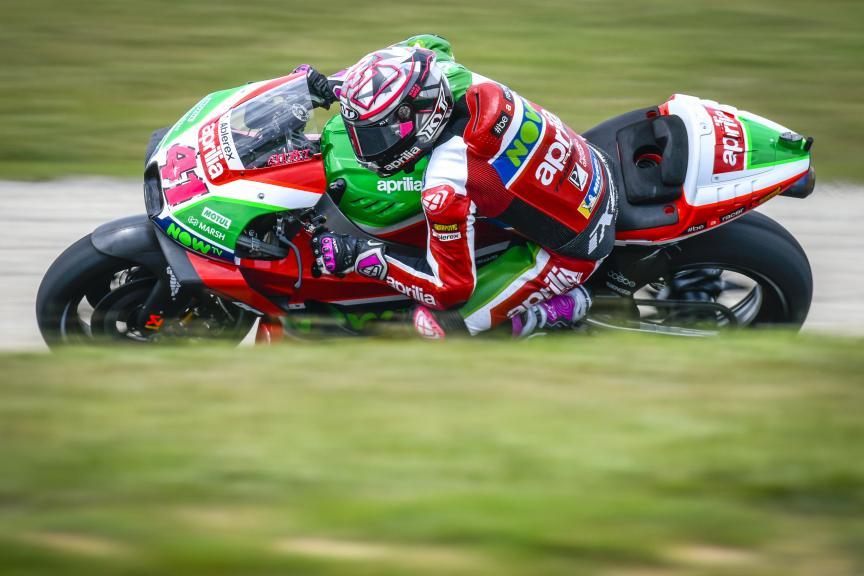 Aleix Espargaro, Aprilia Racing Team Gresini, Catalunya MotoGP Test
