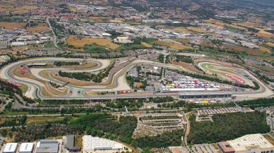 MotoGP™ realizará un test en Catalunya, previsto en mojado