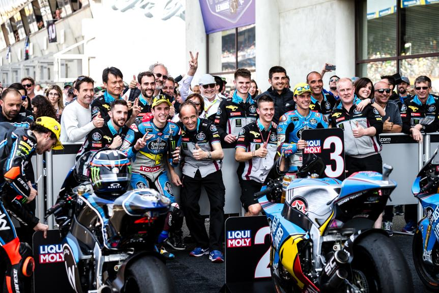 Alex Marquez, Joan Mir, Eg 0,0 Marc VDS, HJC Helmets Grand Prix de France