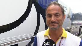 ミシュランのモータースポーツマネージャー、ピエロ・タラマッソがウェットコンディションからドライコンディションに回復した1日目のタイヤパフォーマンスを評価。