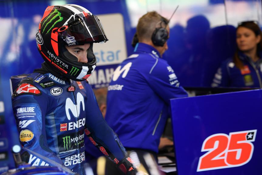 Maverick Viñales, Movistar Yamaha MotoGP, HJC Helmets Grand Prix de France