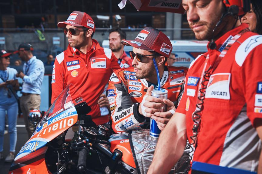 Andrea Dovizioso, Ducati Team, HJC Helmets Grand Prix de France @Alex Chailan / David Piolé