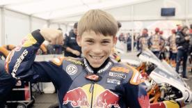 今年で開催12年目となるワンメイクのプロモーションカップ。24名のヤングライダーたちが世界舞台への進出、第2のヨハン・ザルコを目指し挑戦する。