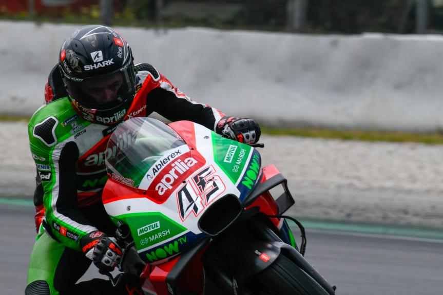 Scott Redding, Aprilia Racing Team Gresini, Catalunya MotoGP™ Test