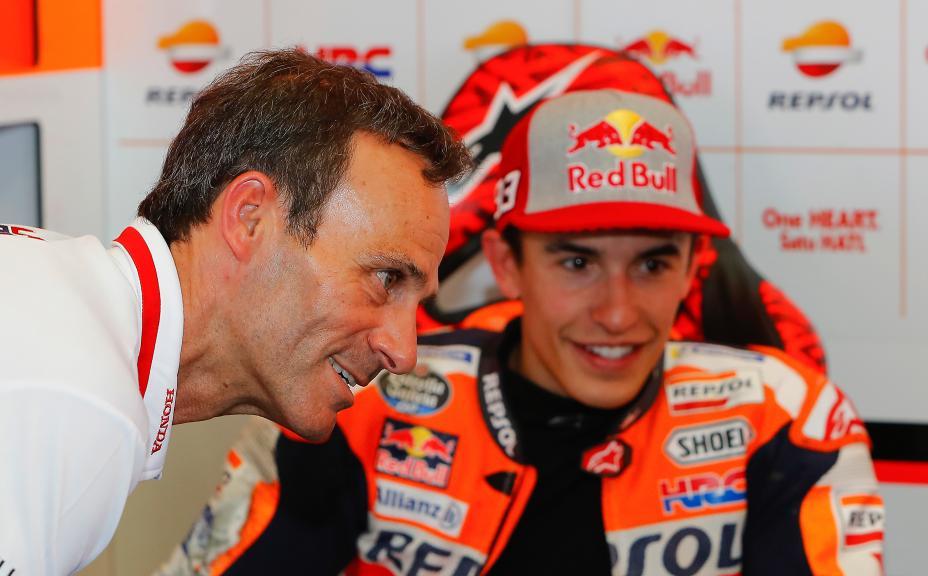 Alberto Puig, Marc Marquez, Repsol Honda Team