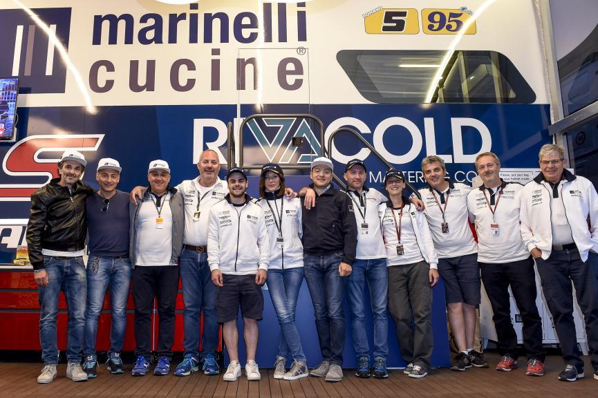 Andrea Marinelli, Marinelli Snipers Team