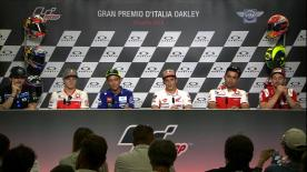 Catch all of the rider's thoughts and their answers to social media questions, ahead of the Italian Grand Prix