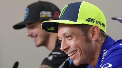 Should Mir step up to MotoGP™? Rossi and Dovi's thoughts