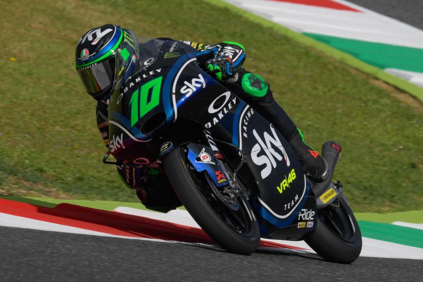 Dennis Foggia, Sky Racing Team VR46, Gran Premio d'Italia Oakley