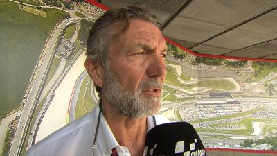 Dr Charte talks about Pirro's health after the big crash