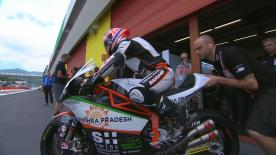 The opening Free Practice session for the Moto2™ World Championship at the Italian GP