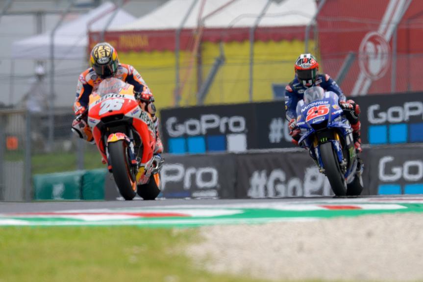 Maverick Viñales, Movistar Yamaha MotoGP, Dani Pedrosa, Repsol Honda Team, Gran Premio d'Italia Oakley
