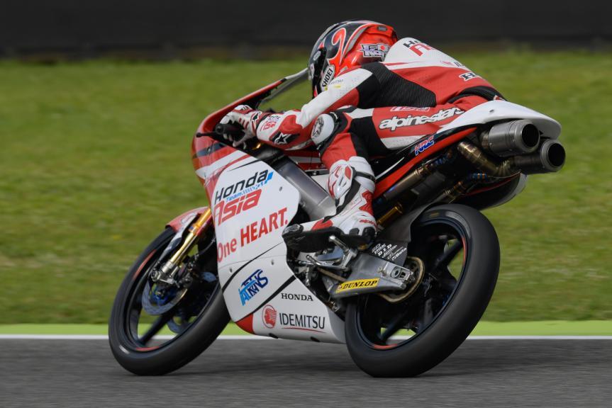 Kaito Toba, Honda Team Asia, Gran Premio d'Italia Oakley