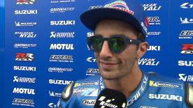"The home rider is happy to have good feelings at Mugello in front of ""his people"""