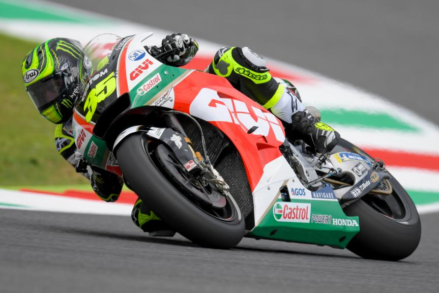 Cal Crutchlow, LCR Honda Castrol, Gran Premio d'Italia Oakley