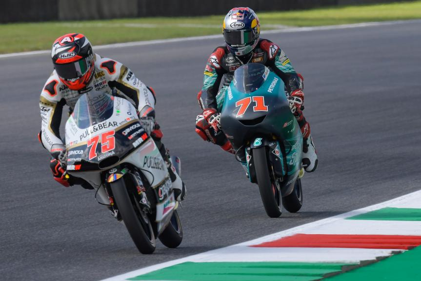 Albert Arenas, Angel Nieto Team Moto3, Ayumu Sasaki, Petronas Sprinta Racing, Gran Premio d'Italia Oakley
