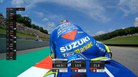 Relive all of the premier class action in the final 3 minutes of qualifying at the Mugello Circuit