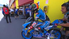 The battle for pole in Moto3? is on! Watch as the lightweight class battle it out for their grid positions