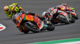 Revivez la troisième séance d'essais libres de la catégorie Moto2™ au Mugello.