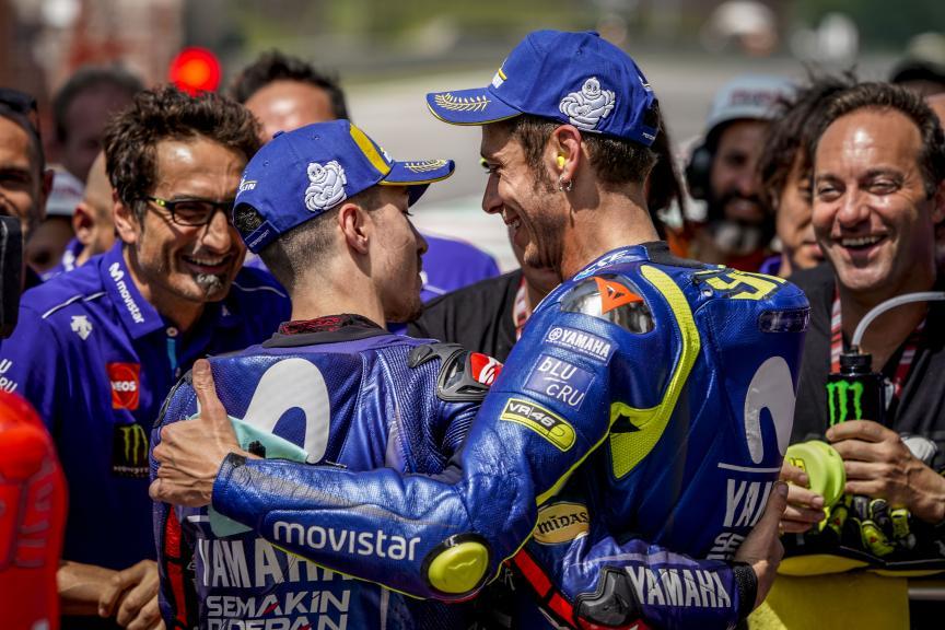Valentino Rossi, Maverick Viñales, Movistar Yamaha MotoGP, Gran Premio d'Italia Oakley
