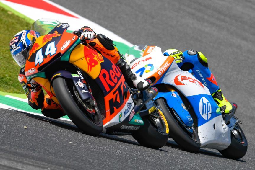 Miguel Oliveira, Red Bull KTM Ajo, Lorenzo Baldassarri, Pons HP40, Gran Premio d'Italia Oakley