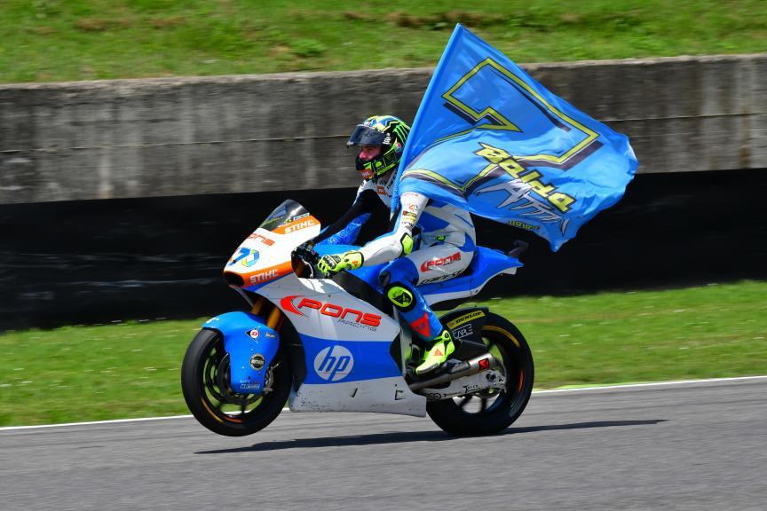 Lorenzo Baldassarri, Pons HP40, Gran Premio d'Italia Oakley
