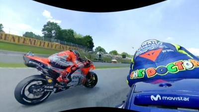Experience Lap 1 at Mugello with Rossi in 360