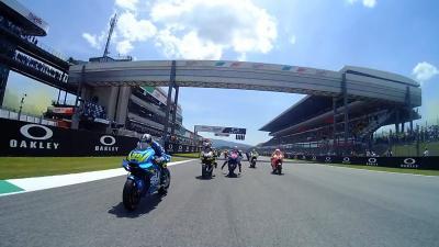 Italian GP: Multi-OnBoard-Start