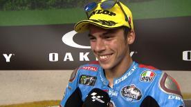 Le meilleur rookie de la catégorie intermédiaire s'est offert son deuxième podium de rang au Grand Prix d'Italie.