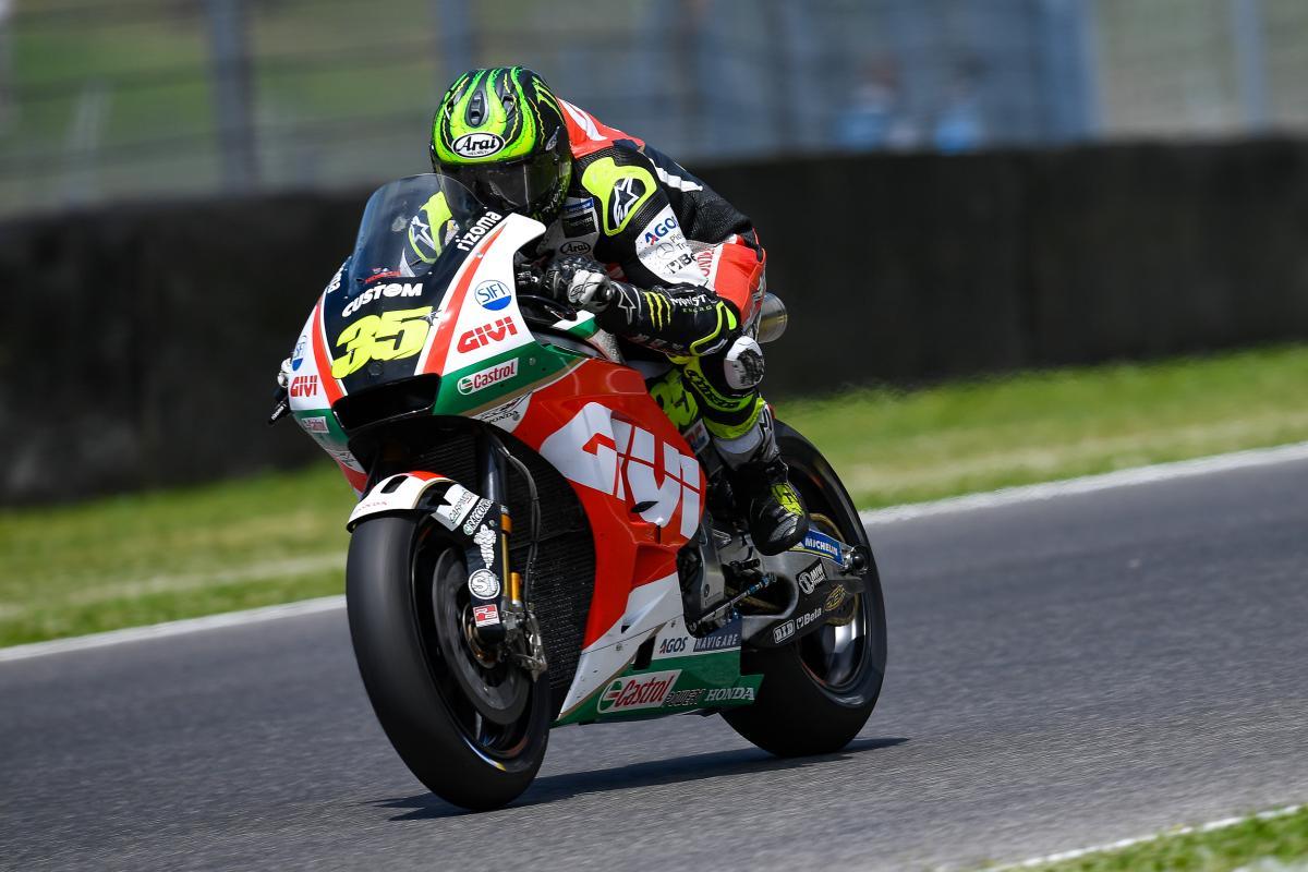 "Crutchlow ""happy enough"" with P6 at Mugello | MotoGP™"