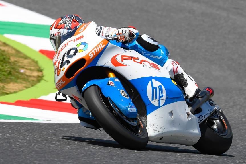 Hector Barbera, Pons HP40, Gran Premio d'Italia Oakley