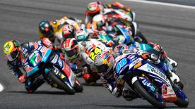 The full race session at the #ItalianGP of the Moto3™ World Championship.