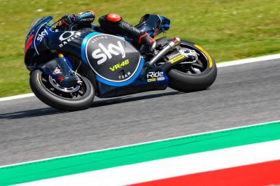 Bagnaia leads Italian 1-2-3 in Warm Up