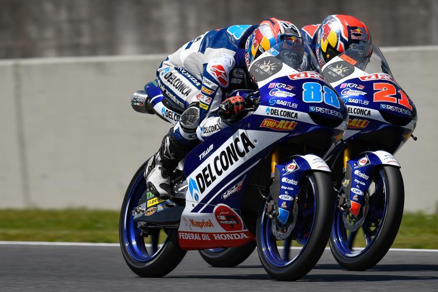 Jorge Martin, Fabio Di Giannantonio, Del Conca Gresini Moto3, Gran Premio d'Italia Oakley