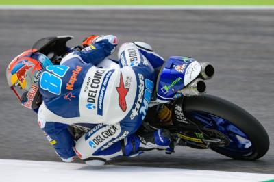 Martín domine le warm-up du GP d'Italie