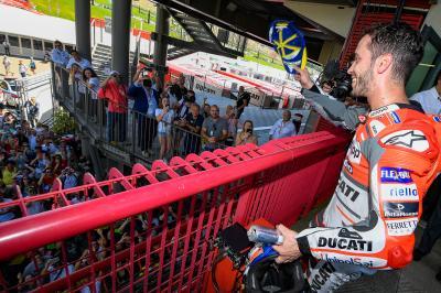 'Felicito a Lorenzo, pero la Ducati de ahora funciona'