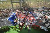Jorge Lorenzo, Andrea Dovizioso, Valentino Rossi, Gran Premio d'Italia Oakley