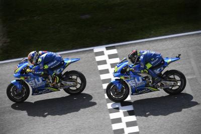 Double top five for Suzuki in Italy