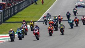 All of the incredible action from the full race session of round 6 of the MotoGP? World Championship at Mugello