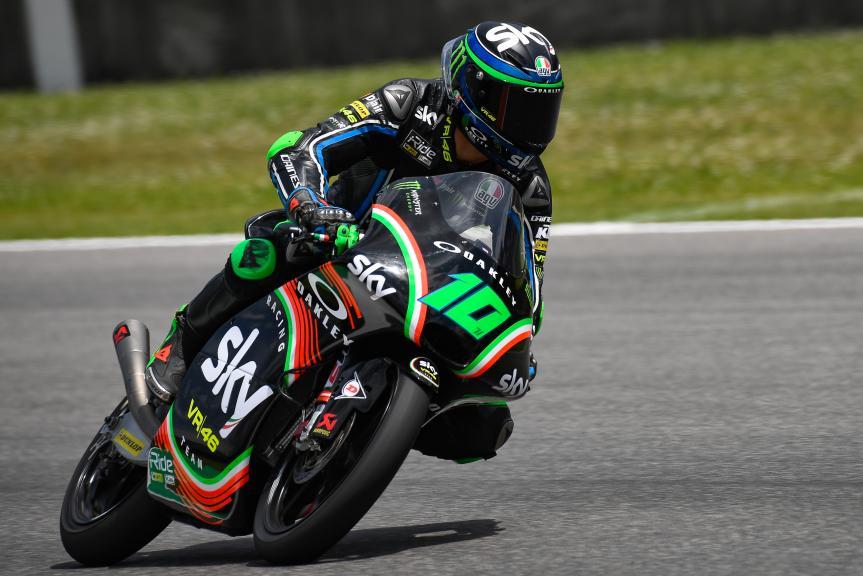 Dennis Foggia, Sky Racing Team VR46, Mugello Moto2 & Moto3 Official Test