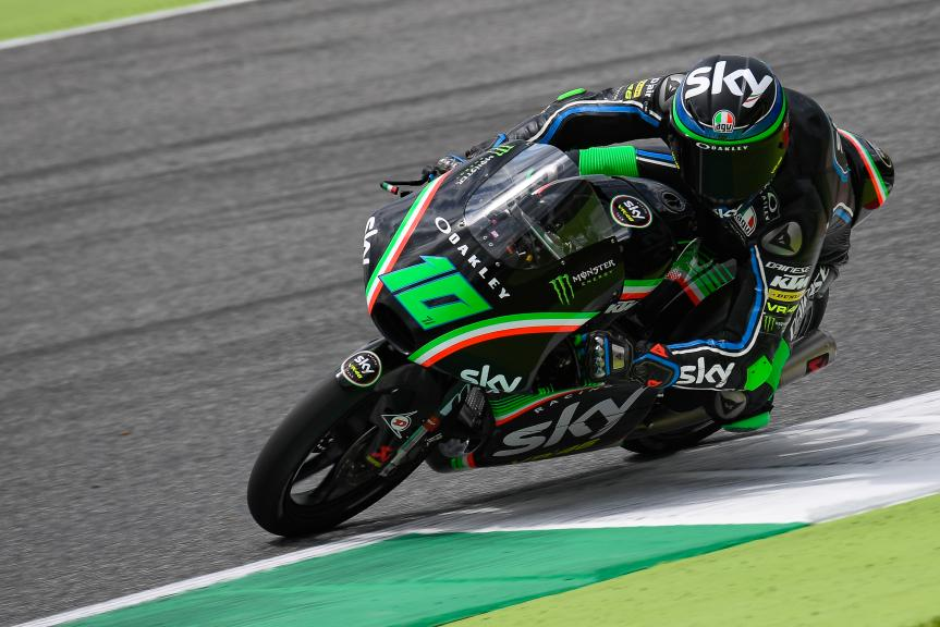 Dennis Foggia, Sky Racing Team VR46, Mugello Moto2 & Moto3 Official Test