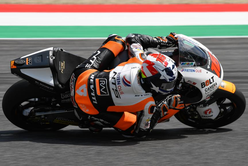Joe Roberts, NTS RW Racing GP, Mugello Moto2 & Moto3 Official Test