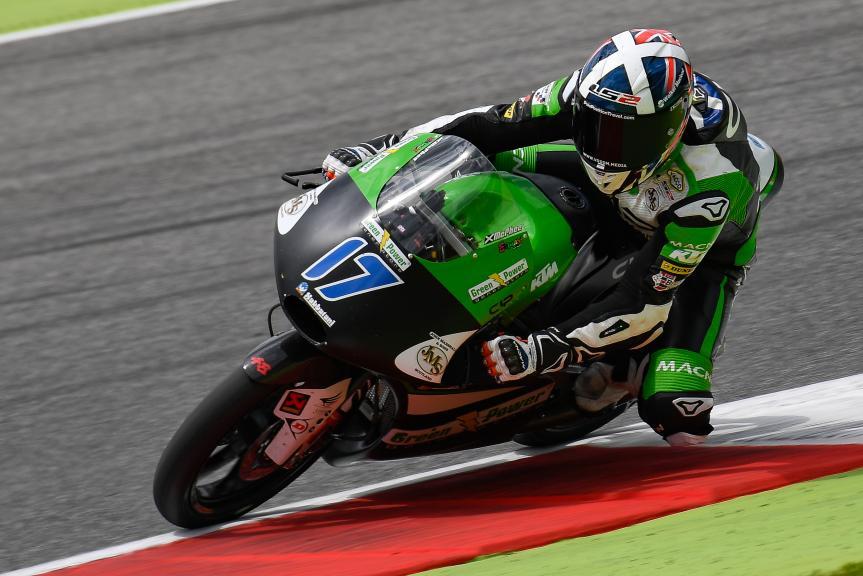 John Mcphee, CIP - Green Power, Mugello Moto2 & Moto3 Official Test