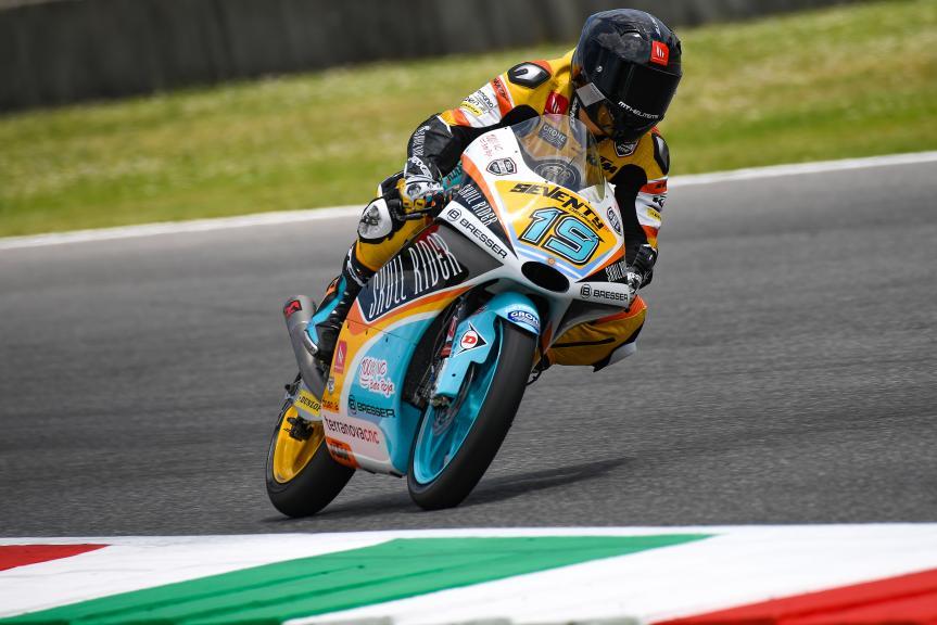 Gabriel Rodrigo, RBA BOE Skull Rider, Mugello Moto2 & Moto3 Official Test