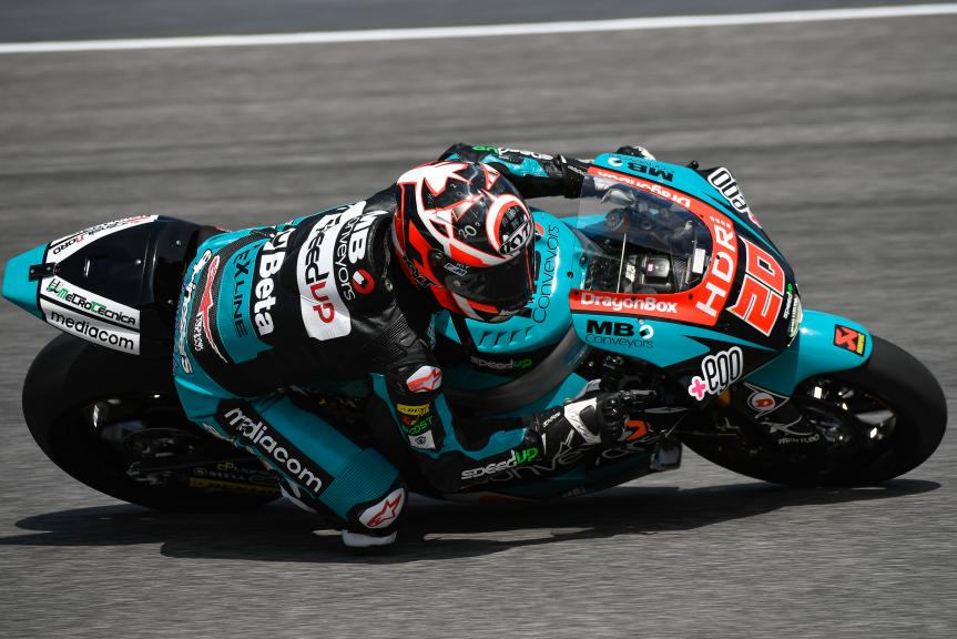 Fabio Quartararo, Speed Up Racing, Mugello Moto2 & Moto3 Official Test