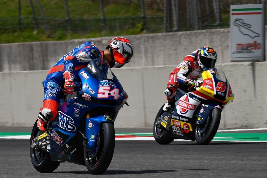 Mattia Pasini, Italtrans Racing Team, Mugello Moto2 & Moto3 Official Test